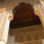 Detail at the Saadian Tombs